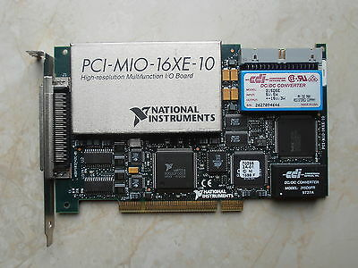 National Instruments PCI-MIO-16XE-10 (PCI-6030E) NI DAQ Card, Multifunction