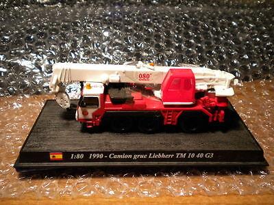 Del Prado World Fire Engines - SPAIN 1990 Liebherr LTM I040-3  code101