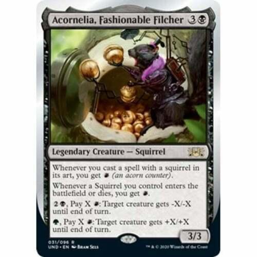 Fashionable Filcher MTG Unsanctioned Acornelia NM Card