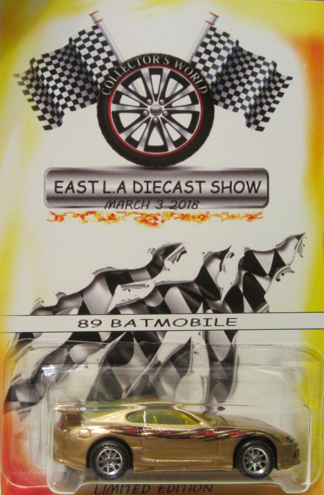 Hot Wheels CUSTOM TOYOTA SUPRA East L.A Diecast Show Real Riders Limited