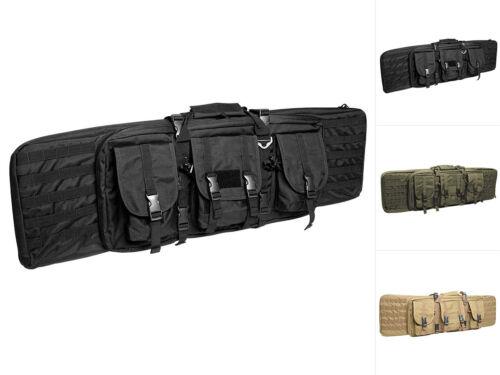 Mil-Tec Rifle Case Large Waffentasche Gewehrtasche Tasche Schwarz Oliv 105cm