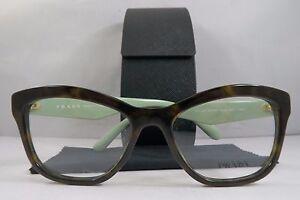 f00cfdfc7b4 Prada Women s Tortoise Glasses with case VPR 29R 2AU-1O1 52mm ...