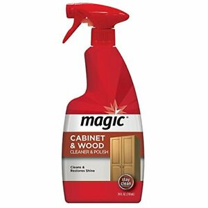New Magic American Cabinet And Wood Cleaner Amp Polish 24 Fl