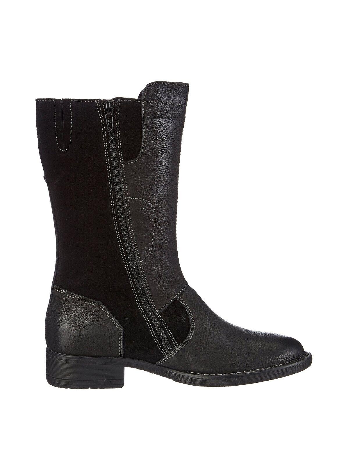 Camel Active botas, nuevo, PVP , cuero, FB. negro, en OVP