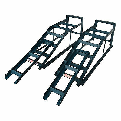 2.5 Tonne Ramp Extra Wide Heavy Duty Pair Car Maintenance With Ramp Extensions