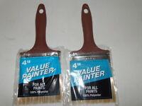 (2) Value Painter All Purpose 4 Brushes