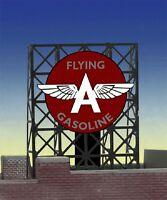 Flying A Gasoline Animated Billboard 33-9035 Z Or N Scale Miller Engineering