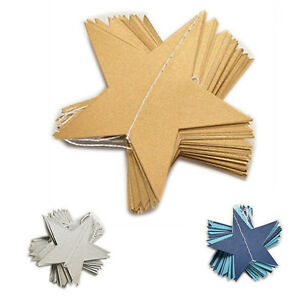 4M-Star-Paper-Garland-Bunting-Home-Wedding-Party-Banner-Hanging-Decoration-Y8M6