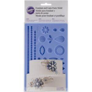 Wilton-2528-Jewelry-Fondant-Gum-Paste-Silicone-Bridal-Decorating-Sugarcraft-Mold