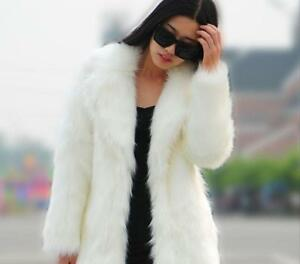 Oversize-Womens-Fashion-Long-Faux-Fur-Full-Length-Coat-Outwear-Jacket-New-Parka