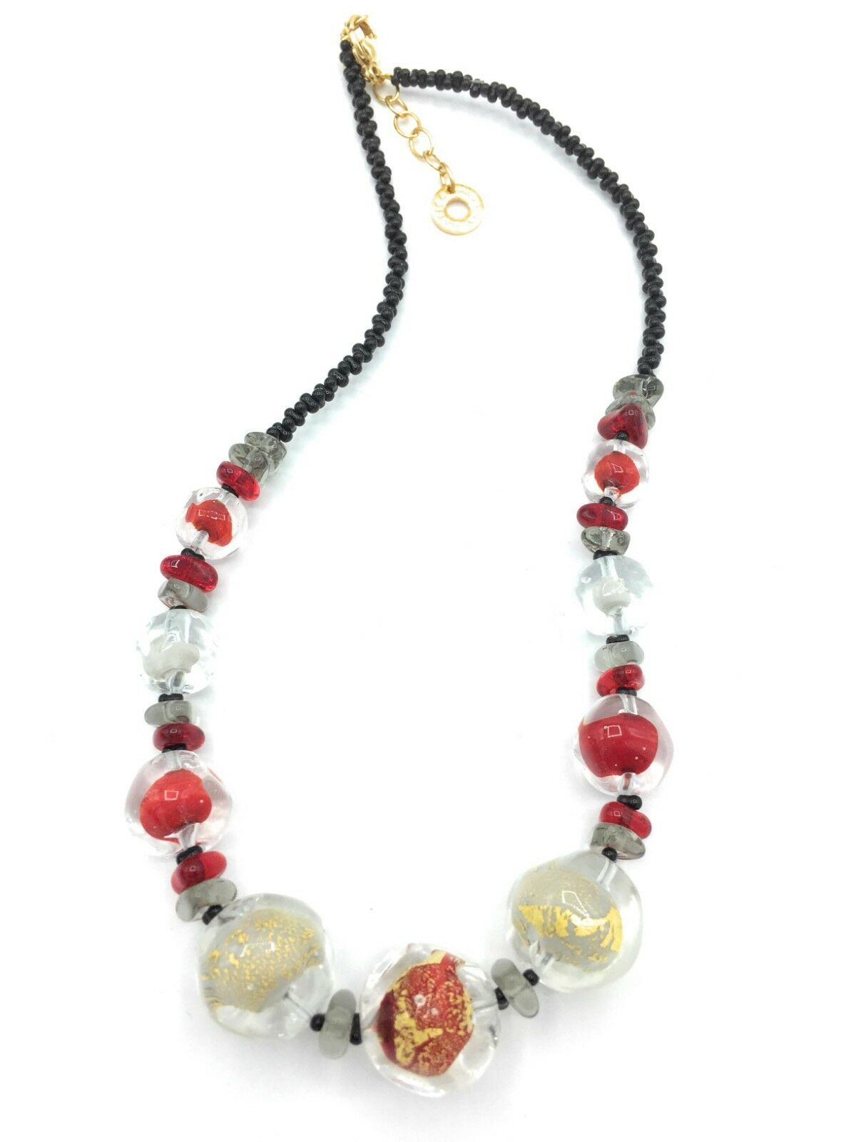 Collana women Antica Murrina  Vetro di Murano Made in Italia Art vn 184