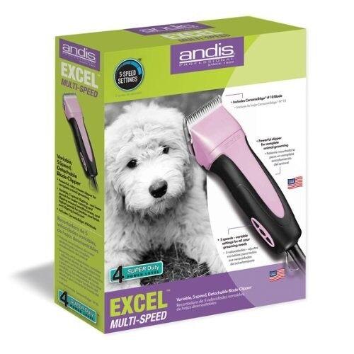nelle promozioni dello stadio New Andis Andis Andis SMC Pro Clip Excel 5-Speed Animal Pet Dog Clipper 65410 rosa  negozio online