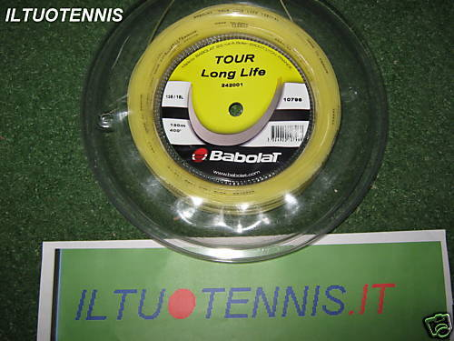 redolo BABOLAT TOUR LONG LIFE cal.1,35 mt.120