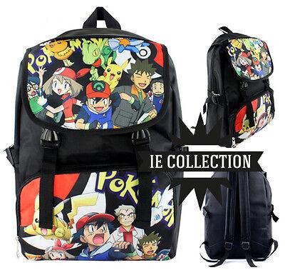 Pokemon Mochila Escuela Torchic Mudkip Profesor Oak Sac Bag Bolsa Backpack | eBay