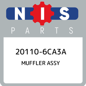 20110-6CA3A-Nissan-Muffler-assy-201106CA3A-New-Genuine-OEM-Part