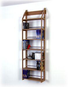 blu ray regal f r ca 180 medien als wandregal von regaflex 4260224929167 ebay. Black Bedroom Furniture Sets. Home Design Ideas