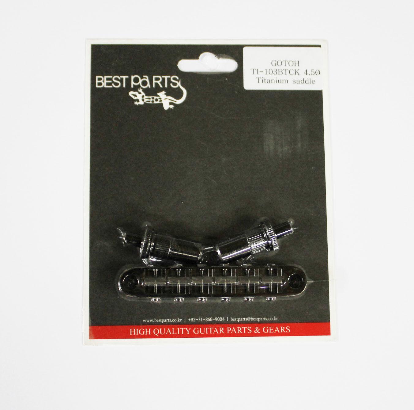 GOTOH Titanium saddle Tune-o-matic Bridge TI103-BTCK COSMO BK Epiphone Les Paul