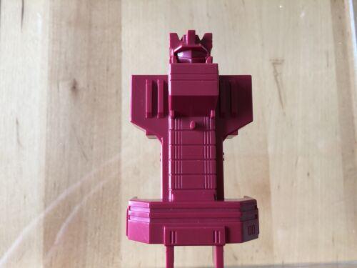 Transformers G1 Parts 1985 METROPLEX red chest SIXGUN