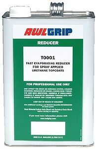 New Topcoat Reducers awlgrip T0001q Fast Evaporating Spray Quart