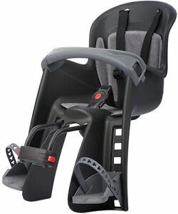 Kindersitz Vorne Polisport Bilby Junior - schwarz/dunkelgrau