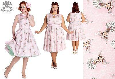Hell Bunny Ladybird Rockabilly Swin Vintage Retro Tea Dress 2XL-4XL