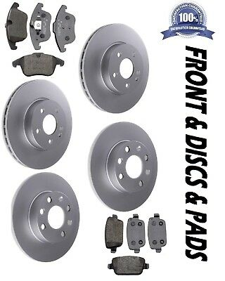 MK4 FORD MONDEO FRONT BRAKE DISCS /& PADS SET 2007 ON/>/>NEW COATED DESIGN
