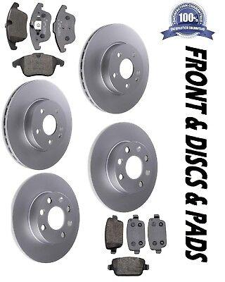 Toyota Avensis 2.0D-4D 03-08 Rear Brake Discs+Pads