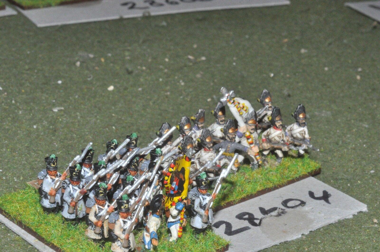 15mm napoleonic   austrian - 2 regts. 28 figures - inf (28604)