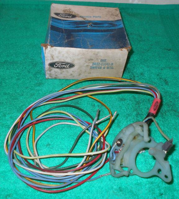 1969 1970 1971 1972 ford f100 f350 f-series truck nos turn signal switch w
