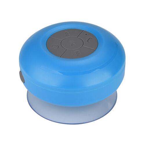 Mini Bluetooth Lautsprecher Wasserdicht Saugnapf Speaker Android IOS Musikbox