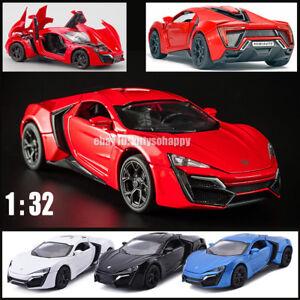 Details about Hot Kid Gift 1/32 Lykan Hypersport Metal Diecast Model Car  Sound Light Pull Back