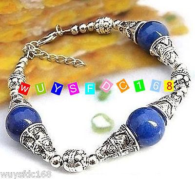 Fashion jewelry Tibet Tibetan silver ladies Lucky beads bracelet bangle 3