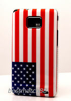 For Samsung Galaxy S2 Us America American Us Flag Case Cover I9100 And I777 S Ii