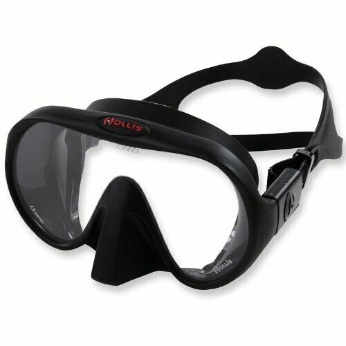 Distortion Free Frameless Diving  Mask w  Wide Vision Crystal Clear Lens -  global distribution