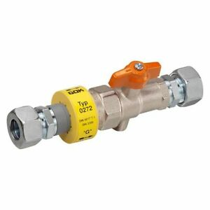 """Ball Valve With Insulating And Tsv Pn 4, Bds. 1/2 """" Bg"""