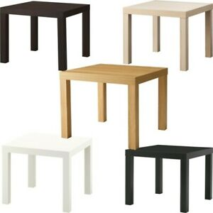 Ikea Lack Home Table Side Table End Display Square Small Office Home 55x55cm Ebay