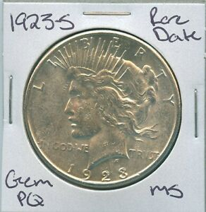 1923-S-Peace-Dollar-Rare-Date-Uncirculated-US-Mint-Coin-PQ-Gem-Silver-Coin-MS