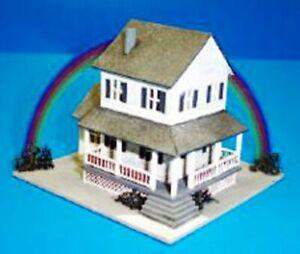 Dollhouse-Miniature-Auntie-Em-039-s-Farmhouse-Kit-1-144-Scale