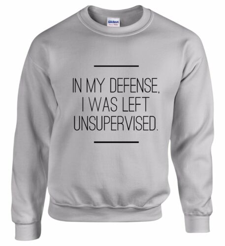 In My Defense Sweatshirt