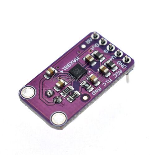 1PCS MAX9814 Microphone AGC Amplifier Board Module Auto Gain Control for Arduino