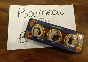 HOLIDAY-BESAME-Snow-White-Pies-DISNEY-EXCLUSIVE-3-BALM-TRIO-SET-Disney-princess