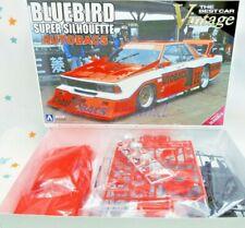 Nissan KY910 Bluebird Super Silhouette AUTOBACS 1:24 Model Kit Aoshima 052310