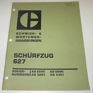 Betriebsanleitung-und-Wartungsanleitung-Caterpillar-Schuerfzug-627