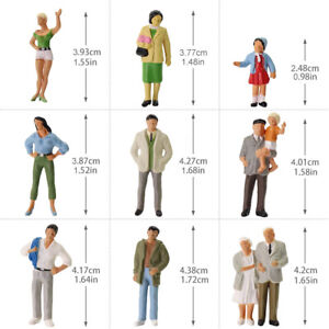 P4306-20pcs-O-Gauge-Passenger-People1-43-Scale-Painted-Standing-Figures