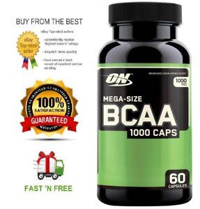 OPTIMUM-NUTRITION-BCAA-1000MG-60C-HIGH-STRENGTH-amp-QUALITY-SAMPLE-UBD-07-19