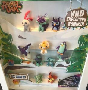 Animal Jam Soft Toy Hangers Mcdonalds Happy Meal 2018 Uk Various Characters Ebay
