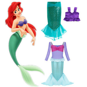 323f75304768d Image is loading Kids-Baby-Girls-Mermaid-Costume-Little-Princess-Fancy-
