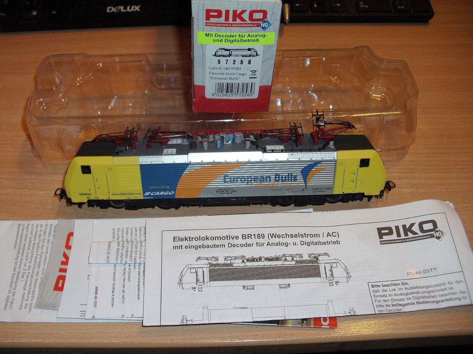 Piko 57258 para Märklin digital corriente alterna es 64 f4-092 European bulls nuevo embalaje original