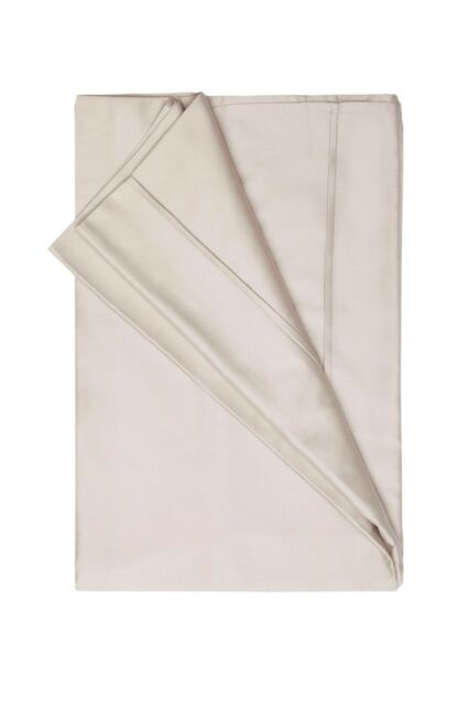450Thread Count Pima Cotton Double Flat Sheet in Oyster 230cm x 260cm