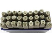 27 Pc Penguin Font 1.5mm UPPERCASE Letter Metalwork Stamp Stamps Punches J1493